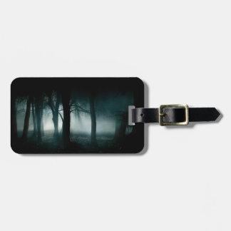 Dark Forest Luggage Tag