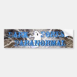 Dark Forest Paranormal Bumper Sticker