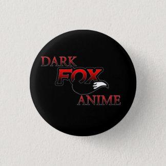 Dark fox anime 1 inch round button