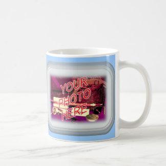 Dark Frosted Glass Frame Mug