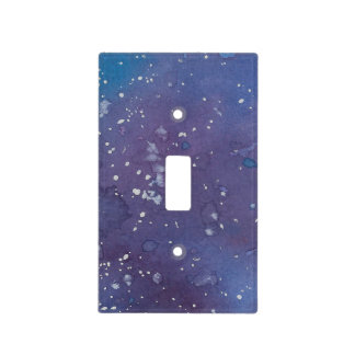 Dark Galaxy Light Switch Cover