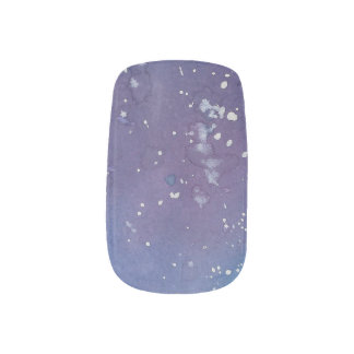 Dark Galaxy Minx Nail Art