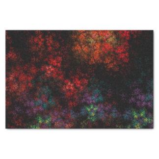 Dark Garden Fractal Tissue Paper