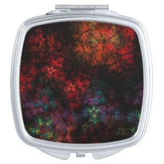 Dark Garden Fractal Travel Mirrors