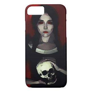 Dark Girl Graphic Art iPhone 7 Case