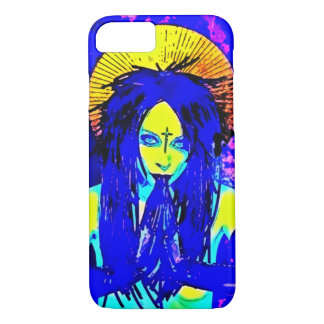 Dark Goddess Art Nouveau iPhone 7 Case