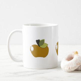 Dark Goldenrod Apple Coffee Mug
