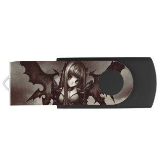 Dark Goth Fairy Anime USB Flash Drive