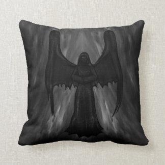 dark gothic angel pilow throw pillow