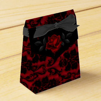 Dark Gothic Rose Favor Box