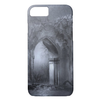 Dark Gothic Ruins Archway iPhone 8/7 Case