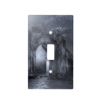 Dark Gothic Ruins Archway Light Switch Cover