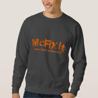 Dark Gray Crew Neck Sweatshirt