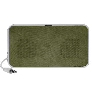 Dark Green Brushed Textured Like Background Speaker System