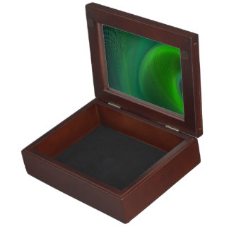 Dark green dream keepsake box