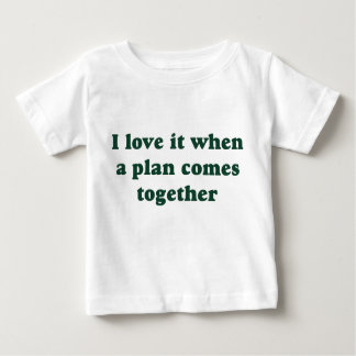 Dark Green I Love It Baby T-Shirt