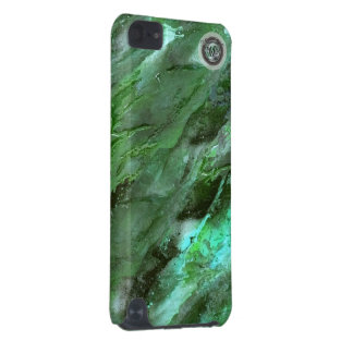 Dark Green Liquid camo iPod Touch 5g case