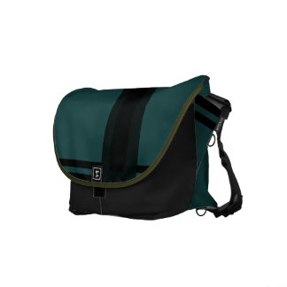 Dark Green Messenger Bag