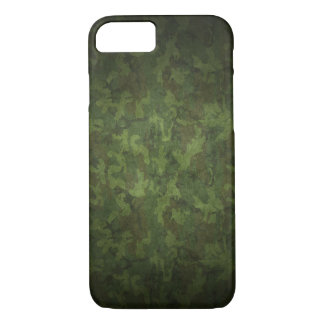 Dark Green Military Camouflage iPhone 8/7 Case
