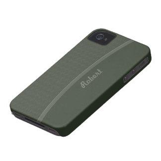 Dark Green Professional design Case-Mate iPhone 4 Case
