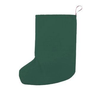 Dark Green Small Christmas Stocking