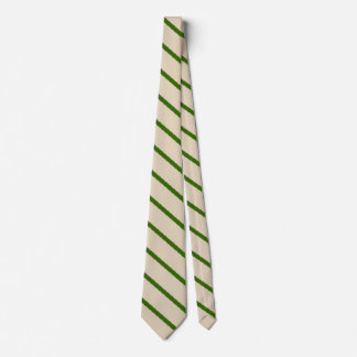 Dark Green Stripes Tie