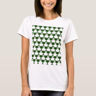 Dark Green Victorian Lace T-Shirt
