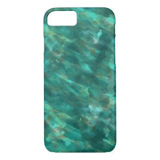 Dark Green Water Colour Art iphone Case