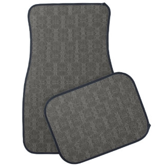 Dark Grey silver Floor Mat