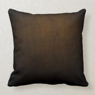 Dark Grunge Textile Throw Pillow