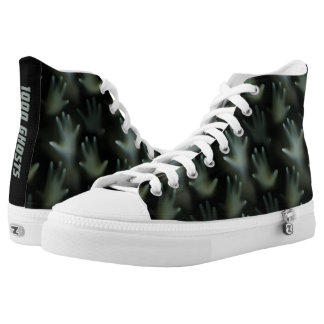 Dark Hands of the Lost Souls Haunted Ghosts Gothic High Tops
