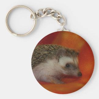 Dark hedgehog keychain