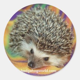 dark hedgehog sticker