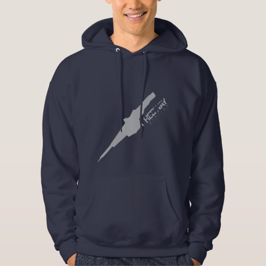 Dark HEDWAY Station hoodie