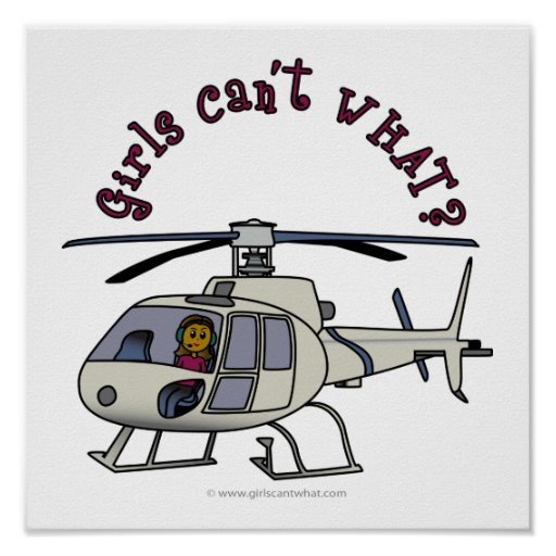 Dark Helicopter Pilot Posters