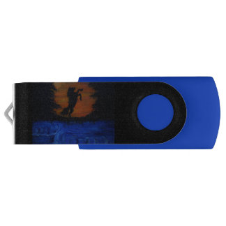 Dark horse pic. / 16GB USB Swivel USB 3.0 Flash Drive