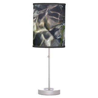 Dark Intense Water Table Lamp