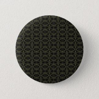 Dark Interalce Tribal 2 Inch Round Button