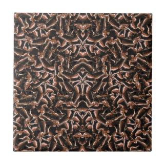 Dark Intricate Modern Tribal Tile