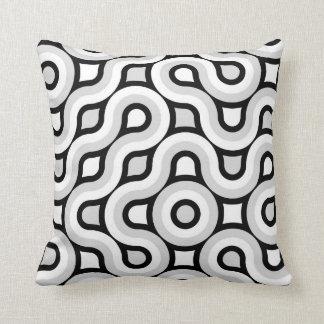 Dark Kawumbel Throw Pillow