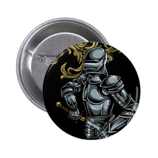 Dark Knight Armour 2 Inch Round Button