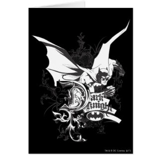 Dark Knight Logo Detailed Card