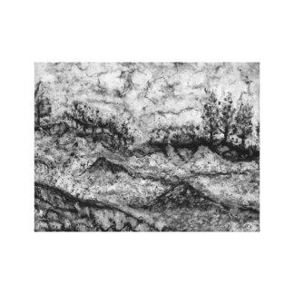 Dark Landscape Impression Sur Toile