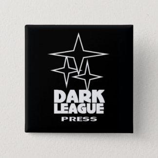 DARK LEAGUE PRESS Square Button/Pin 2 Inch Square Button