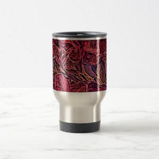 dark lei pink abstract sketch neat background coffee mug