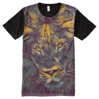 Dark Lion Graphic Art