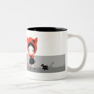 Dark Little Red Riding Hood Mug