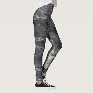 Dark Marble Leggings