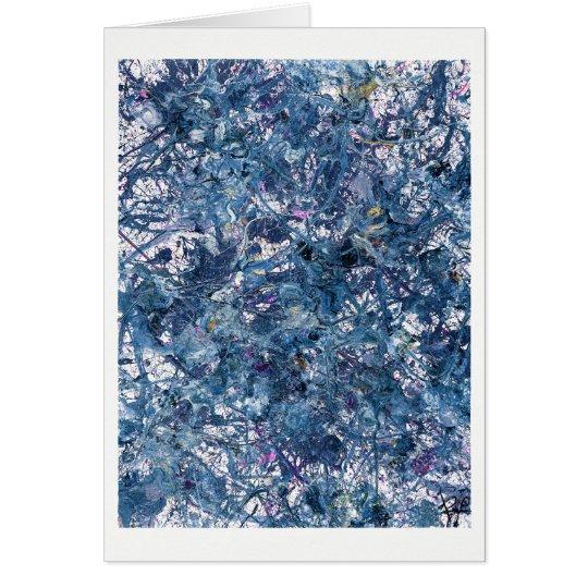 Dark Matter - #2.0 - Abstract Art Card