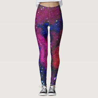 Dark Matter Galaxy women's leggings